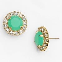 kate spade new york 'secret garden' mixed stone stud earrings