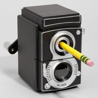 Vintage Camera Pencil Sharpener | Medium Format | fredflare.com | fredflare.com