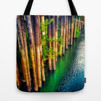 River Front Tote Bag by DuckyB (Brandi)