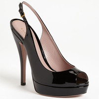 kate spade new york 'charm' slingback pump | Nordstrom