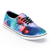 Vans Authentic Lo Pro Cosmic Galaxy Print Shoe