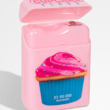Cupcake Floss | Cupcake Flavored Dental Floss | fredflare.com