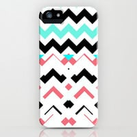 CHAOTIC VISION  iPhone & iPod Case by Ylenia Pizzetti