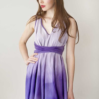 Purple Dress Dipdyed 'Daydreamer Dress in Lilac' by Archella