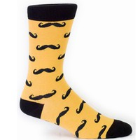 Men&#x27;s Mustache Socks