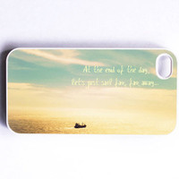 Iphone Case Sail Boat Ship Bay Ocean Gold by SSCphotographycases