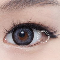 GEO Hurricane Gray Circle Coloured Lenses | EyeCandy's