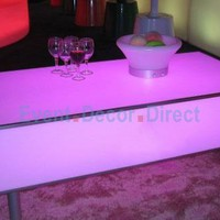 Lighted Club Table - Waterproof, Rechargeable -
