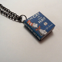 The Cat In The Hat by Dr Seuss Miniature Book by myevilfriend