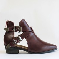 Ankle Cut Out Boots