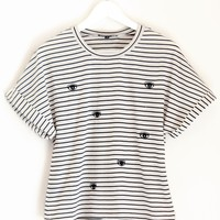 Striped Eyes Shirt