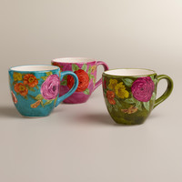 GARDEN MUGS, SET OF 3