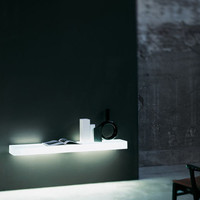 Light-Light Wall Mounted Shelf by Glas Italia