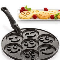Nordic Ware Smiley Faces Pancake Pan