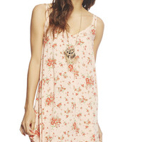 Double Strap Floral Dress | Wet Seal