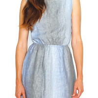 RAMIE DRESS / BLUE SHADES