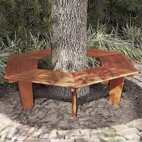 Eucalyptus Tree Bench | Outdoor Living | SkyMall