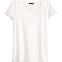 H&M - V-neck Jersey Top -