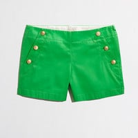 Factory nautical-button short - solid - FactoryWomen's Shorts - J.Crew Factory