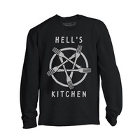 Hells Kitchen Long Sleeve Tee by Pyknic (Black)