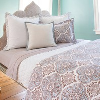 John Robshaw Madura Neela Queen Duvet Cover - Final Sale