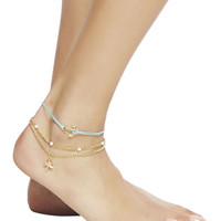 Nautical Anklet 3-Pack | Wet Seal