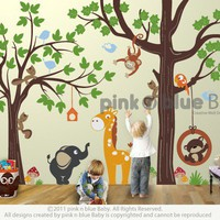 Make a Play Room Nursery Kids Removable Wall by pinknbluebaby