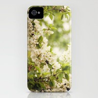 White and Green iPhone Case by Sandra Arduini | Society6