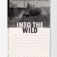 Into The Wild By Jon Krakauer - Urban Outfitters