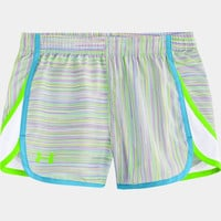 Girls' UA Escape 3 Printed Shorts