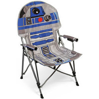 ThinkGeek :: Star Wars R2-D2 Folding Armchair