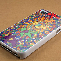 grateful dead tie dye tapestry case for iPhone 4/4s, iPhone 5/5S/5C, Samsung S3 i9300, Samsung S4 i9500
