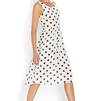 Mod Dots Midi Dress