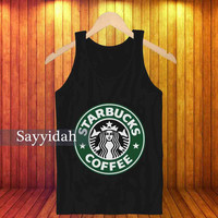 Starbucks , Tank Top Beautyful Design By : Sayyidah