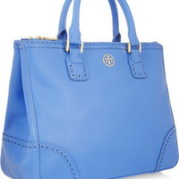 Tory Burch Robinson Spectator textured-leather tote – 45% at THE OUTNET.COM
