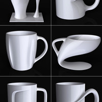 Coffee Mug Series by Jerome Olivet » Yanko Design