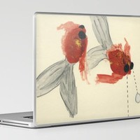 Goldfish Laptop & iPad Skin by Heather Goodwind | Society6