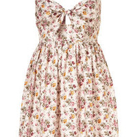 Tie Front Babydoll Dress by Annie Greenabelle** - Dresses  - Clothing  - Topshop