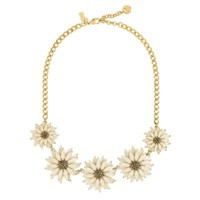 kate spade new york | kate spade | necklaces for women - black eyed susan necklace