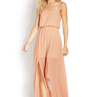 Caged Cami Maxi Dress