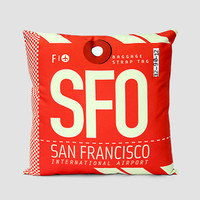 SFO - Pillow Cover