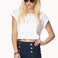 Nautical Knit Shorts