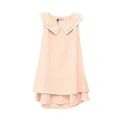 Bowknot Sleeveless Pink Dress,FREE SHIPPING at www.reecn.com