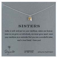 Dogeared 'Reminder - Sisters' Boxed Pendant Necklace | Nordstrom