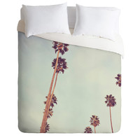 Catherine McDonald Streets Of Los Angeles Duvet Cover