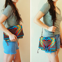 Pendleton and leather bag Marquesa bag by ArcOfADiver