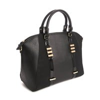 New Look Wendy Bag in Patent Black