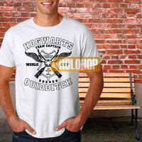 Quidditch Hogwarts Athletics Harry Potter Parody T-shirt by HOLOHOP