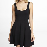 CORSET TOP SKATER DRESS
