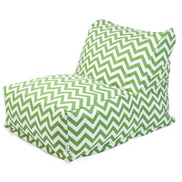 Sage Zig Zag Bean Bag Chair Lounger
